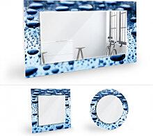 Wandspiegel - Wandspiegel Waterdrops