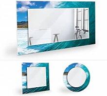Wandspiegel - Wandspiegel Welle