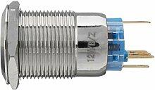 Wandsteckdose Switch Panel 12V 19mm LED-Push