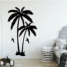 Wandsticker 3D Kokospalme Pflanze Für Wohnzimmer