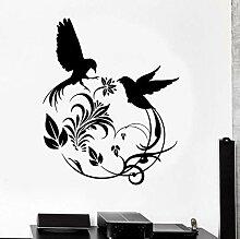 Wandsticker 57X70cm fototapete Aufkleber Vögel