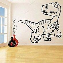 Wandsticker Abnehmbare Cartoon Dinosaurier Vinyl