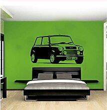 Wandsticker Auto Mini Schlafzimmer Wandkunst