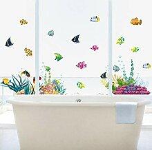 Wandsticker Diy Fisch Kinderzimmer Wohnkultur