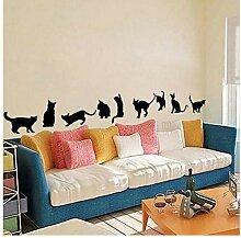 Wandsticker Für Baby Katzen Wasserdicht