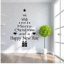 Wandsticker Für Baby Kreative Weihnachtsbaum