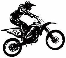 Wandsticker Für Baby Motorrad Motocross