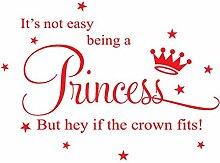Wandsticker Für Baby Pvc Wandaufkleber Prinzessin