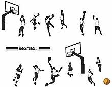 Wandsticker Für Baby Spielen Basketball Slam Dunk