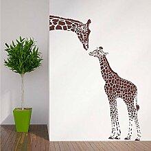Wandsticker Giraffe Und Baby Giraffe Wohnkultur