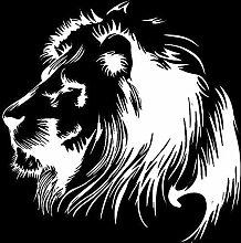 Wandsticker Meditation Lion Vinyl Aufkleber Auto