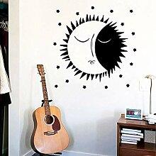 Wandsticker Mond Wandkunst Aufkleber Wandkunst