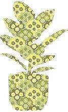 Wandsticker Pflanze 2