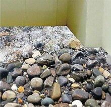 Wandsticker Wand-Dekor-Vinylaufkleber-Raum-Abziehbild-Kunst-Sommer-Wind-Starfish-Steinküsten-Wand-Aufkleber können Wand-Aufkleber 3psc entfernen , A , 50*70cm