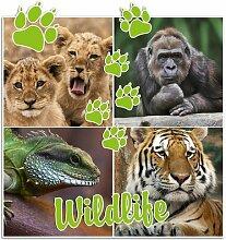 Wandsticker Wildlife, Gorilla East Urban Home