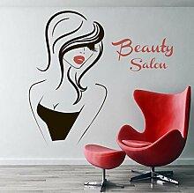 Wandstickers Beauty Salon Vinyl Wandtattoo