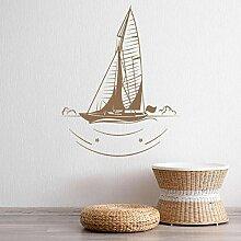 Wandstickers Segelboot Wandtattoo Sea Ships Kunst