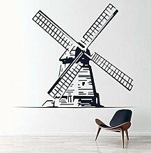 Wandstickers Windmühle Wandtattoo Kreative