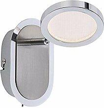 Wandstrahler Innen LED Wandlampe mit Schalter