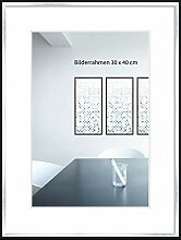 WANDStyle Bilderrahmen Modern 40x50cm I Farbe: