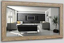 WandStyle H660-020 Wandspiegel Spiegel Schwemmholz Shabby Chic Vintage Landhaus Natur (50 x 70 cm)
