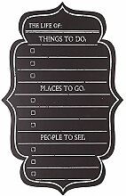 Wandtafel-Checkliste (Einheitsgröße) (Schwarz)