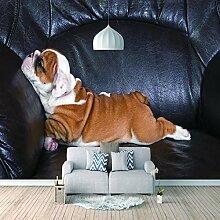 Wandtapete 3D Für Benutzerdefinierte Hund Foto