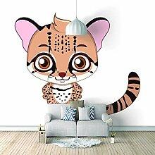 Wandtapete 3D Für Benutzerdefinierte Katze Foto