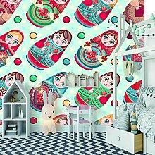 Wandtapete 3D für kundenspezifische russische