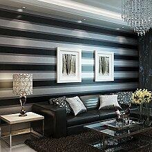 wandtapete 3D schwarze Streifen können vertikale Streifen Tapete kleben sicher sein. , type 4