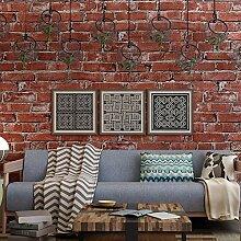 Wandtapete aus Ziegelsteinen, für Wohnzimmer,