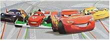 Wandtapete Bordüre Disney Cars 2 WGP - Grau -