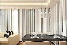 wandtapete Breite Tapete TV Hintergrund leichte vertikale Streifen in schwarz / weiß Tapete, schwarze moderne minimalistische Wohnzimmer Esszimmer Schlafzimmerwände , type 3