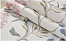 Wandtapete für Schlafzimmer, modern, Vintage,