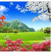 Wandtapete Für Wände 3D Natur Landschaft Grüne