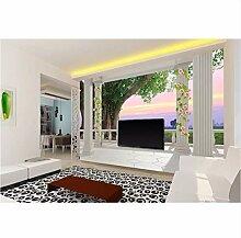 Wandtapete für Wohnzimmer, 3D-Tapete für Wände,