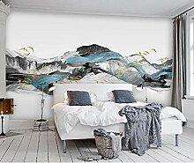 Wandtapete für Wohnzimmer, Schlafzimmer, Berg,