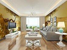 Wandtapete mit Baum-Motiv, für Wohnzimmer,