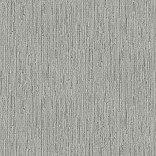 Wandtapete mit Gras-Tuch, silberfarben