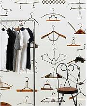 Wandtapete Obsession Hangers 1000 cm L x 48,7 cm B