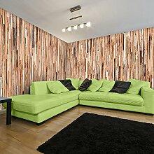 Wandtapete RUNA ART Tapete Holzwand 8001001a
