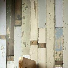 Wandtapete Scrapwood 900 cm L x 48,7 cm B East
