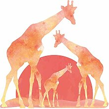 Wandtattoo Afrika Giraffen in der Savanne