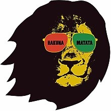 Wandtattoo Afrika Spruch Hakuna Matata Wandsticker
