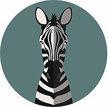 Wandtattoo Afrika Zebra Tierbild Wandsticker