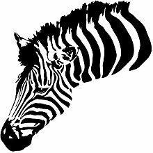 Wandtattoo Afrika Zebra Wandsticker Tiere Savanne