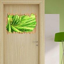 Wandtattoo Aloe Vera Pflanze East Urban Home