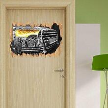 Wandtattoo Audi Motor East Urban Home