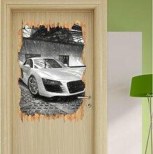 Wandtattoo Audi R8