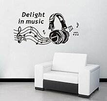 Wandtattoo Aufkleber Tapete Abnehmbare Diy Musik